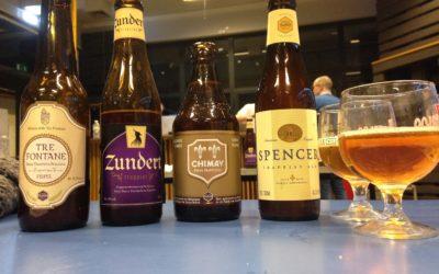 Dégustation de bières trappistes de Belgique et d'ailleurs