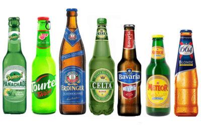 Bières légères et sans alcool